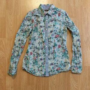 ❗ SALE ❗Burton Floral button down shirt